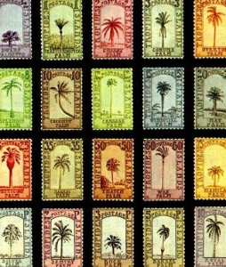 Banana Republic artistamps by donald evans